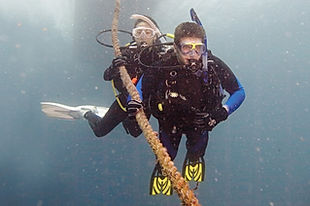 Student Scuba Divers at Open Water Dives