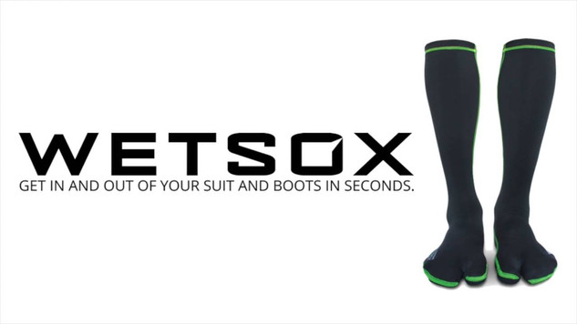 Tired of fighting with your wetsuit and boots? Try WETSOX.
