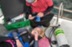 PADI Emergency Oxygen Provider
