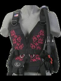 Zeagle Zena BCD - Floral Pink