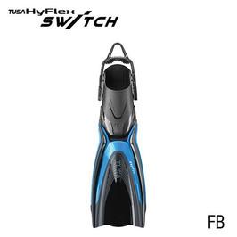 Tusa HyFlex Switch Fins - Fishtail Blue