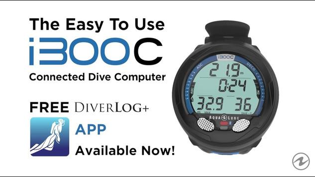 Aqua Lung i300C Dive Computer & DiverLog+ App