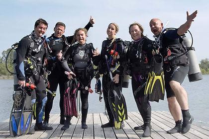 Happy New Scuba Divers