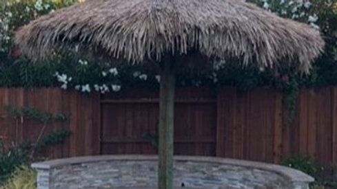 7' Mexican Palm Thatch Umbrella Cover