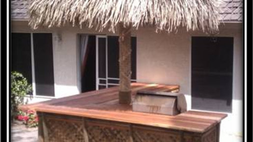 14' Mexican Palm Thatch Umbrella Cover