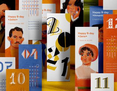 12 scrittori x 12 mesi Calendario 2021