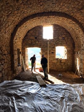 Renovation ancienne bergerie Corbara