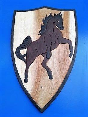 Bouclier cheval