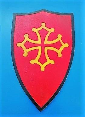 Bouclier croix Occitane