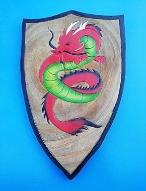Bouclier Dragon de feu