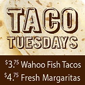 Taco Tuesdays $1.50 Short Rib Tacos $4 Margaritas