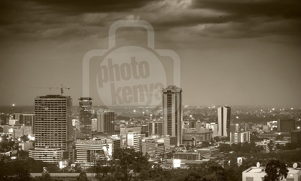 Print: Nairobi City Centre (DWL)