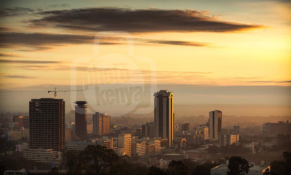 Print: Nairobi Sunrise (DWL)