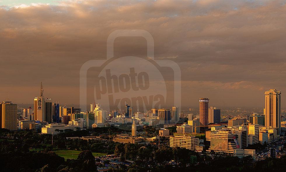 Print: Nairobi Sunset (DWL)