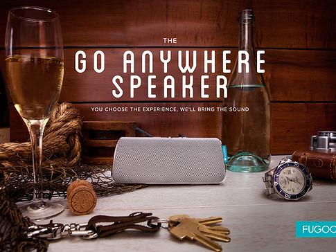 Fugoo Go Anywhere speaker