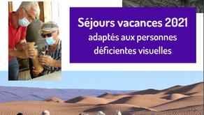 Séjours adaptés Association Valentin Haüy Message de la part de Fabienne SANGARÉ