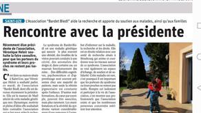 On parle de Bardet-Biedl dans le Dauphiné Libéré