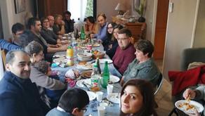 Retrouvailles gourmandes en Région Parisienne