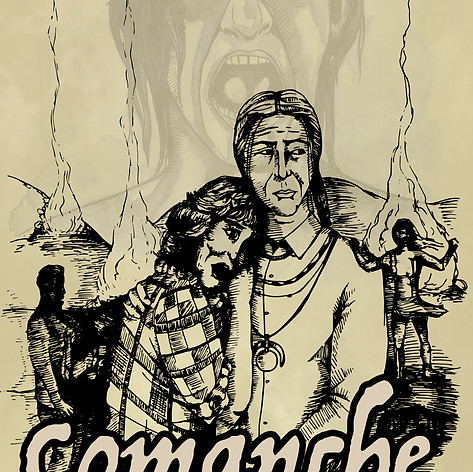 Comanche Maneater (cover art)
