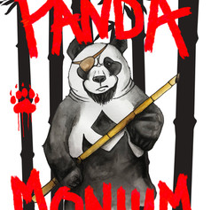 Pandamonium (game art)
