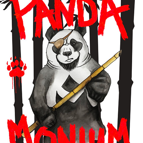 Pandamonium (game art)