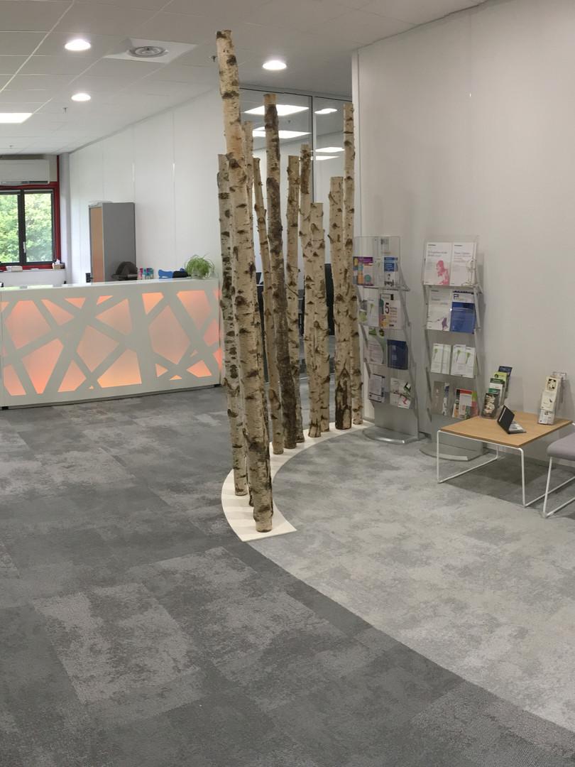 Aménagement de bureaux réalisation