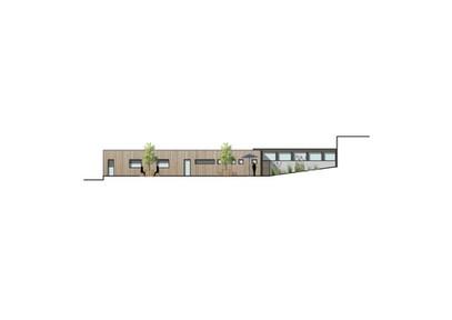 Projet d'extension de bureaux Batiment ossature bois