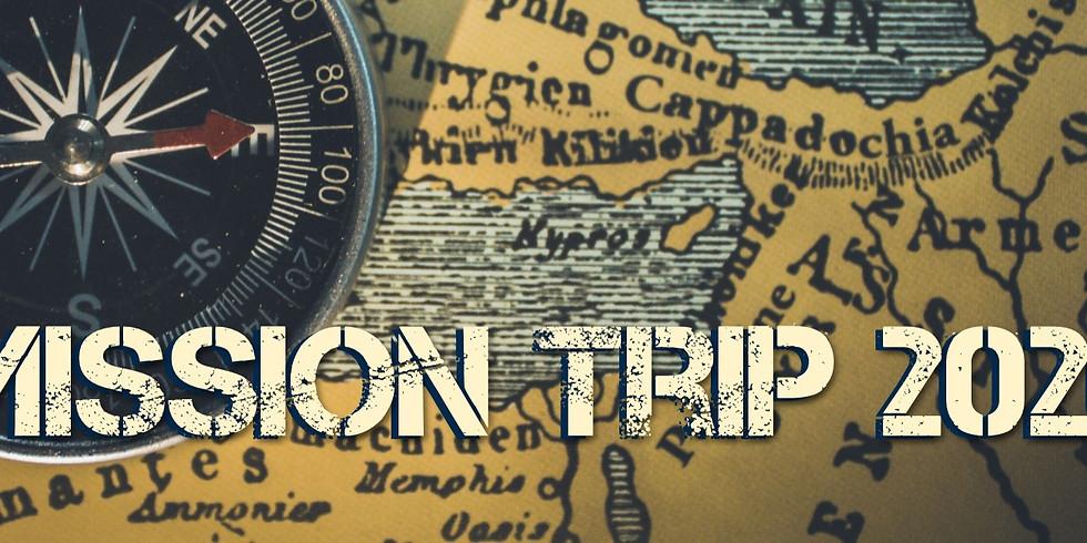 2020 Mission Trip Registration