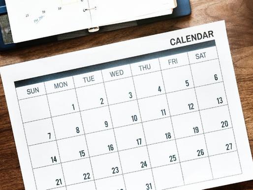 2019-2020 Schedules & Calendar