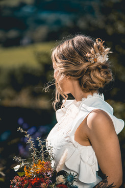 Relaxed Soft Bridal Up-Do