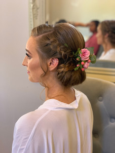 Smooth Bridal Bun