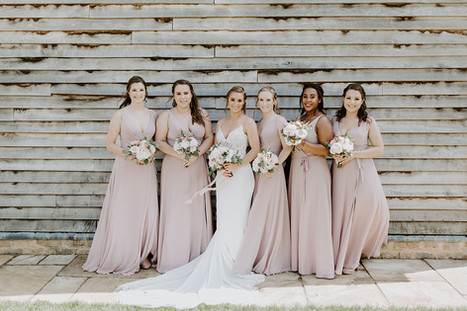 Wedding Day Bride And Bridesmaids