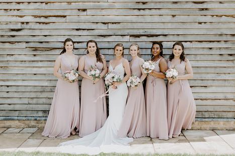 Wedding Day Bride And Bridesmaids