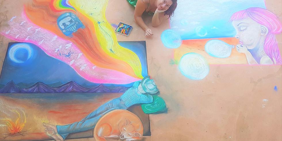 Sidewalk Art Workshop