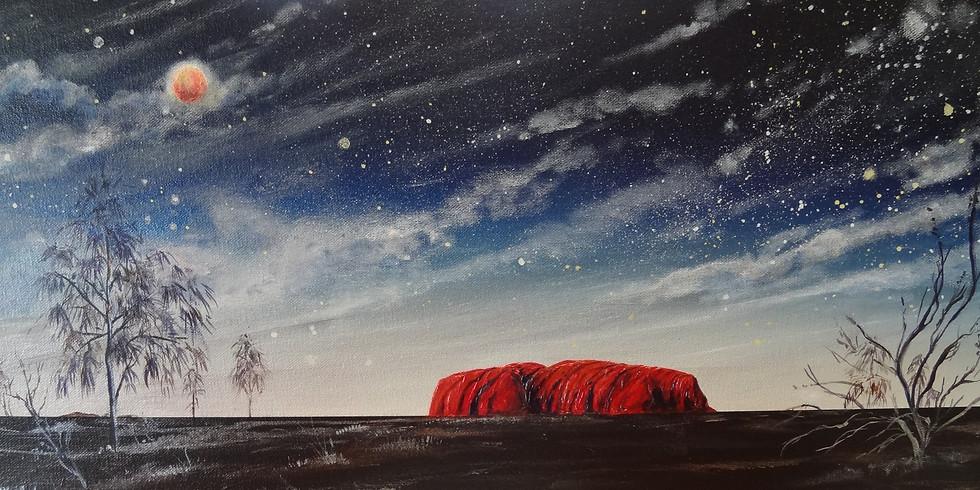 Paint a Galaxy Art Workshop with Linda MacAulay (1)