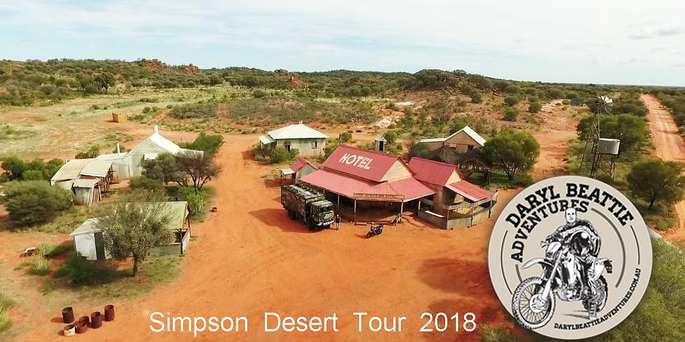 Simpson Desert Tour 2018 -  SOLD OUT