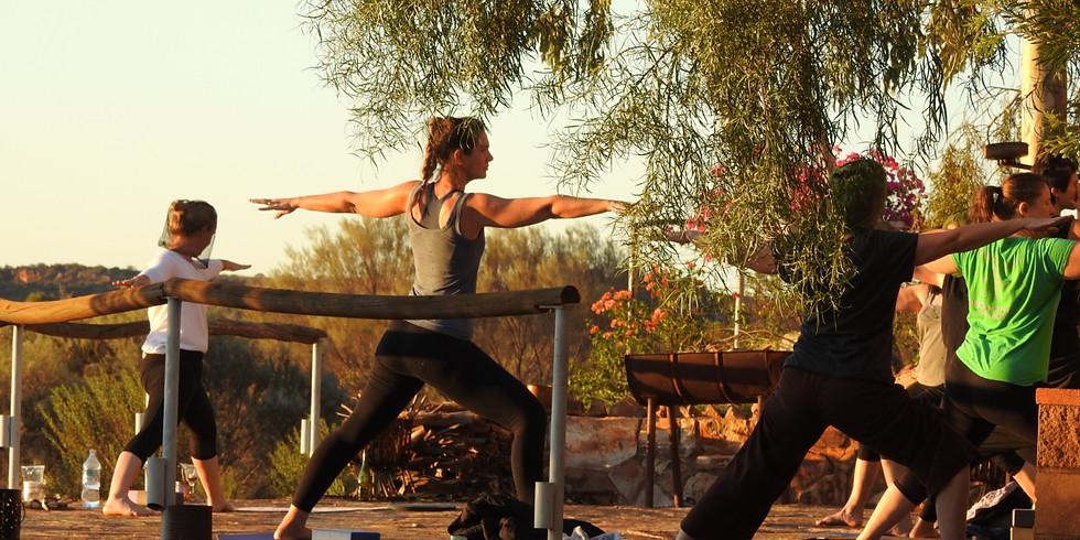 Yoga Class at Ooraminna