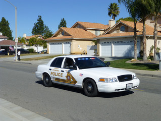 Woman From Rancho Cucamonga Arrested for Hitting Patrol Car
