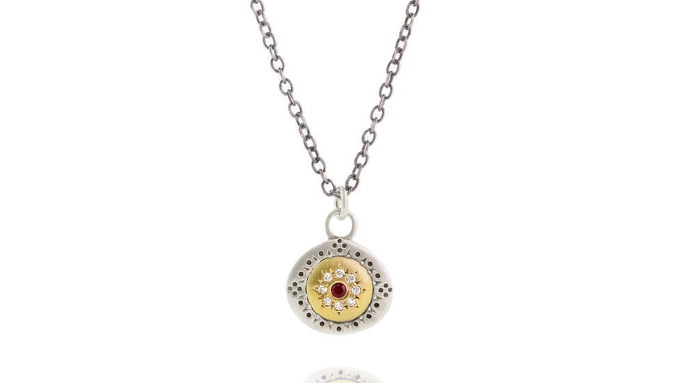 Ruby Pendant Seeds Of Harmony