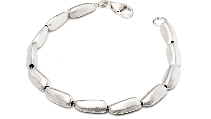 SS Single Stone Bracelet