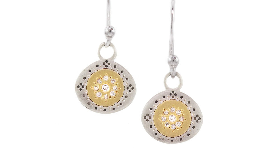 Diamond Seeds of Harmony Earrings