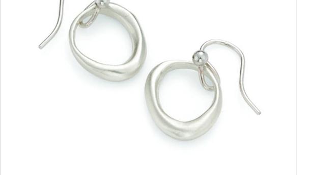 SS Organic Circles Earrings