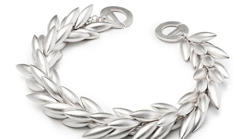 SS Wheat Bracelet