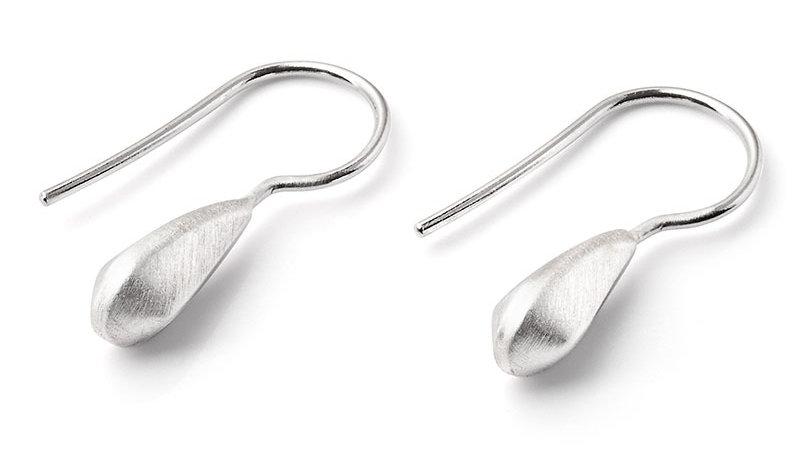SS Teardrop Earrings