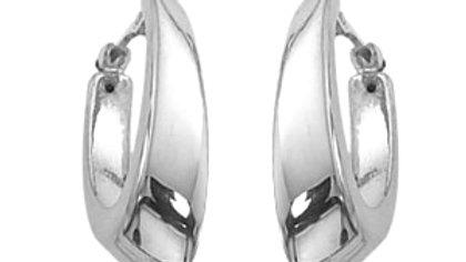 Small Oval Visor Earrings