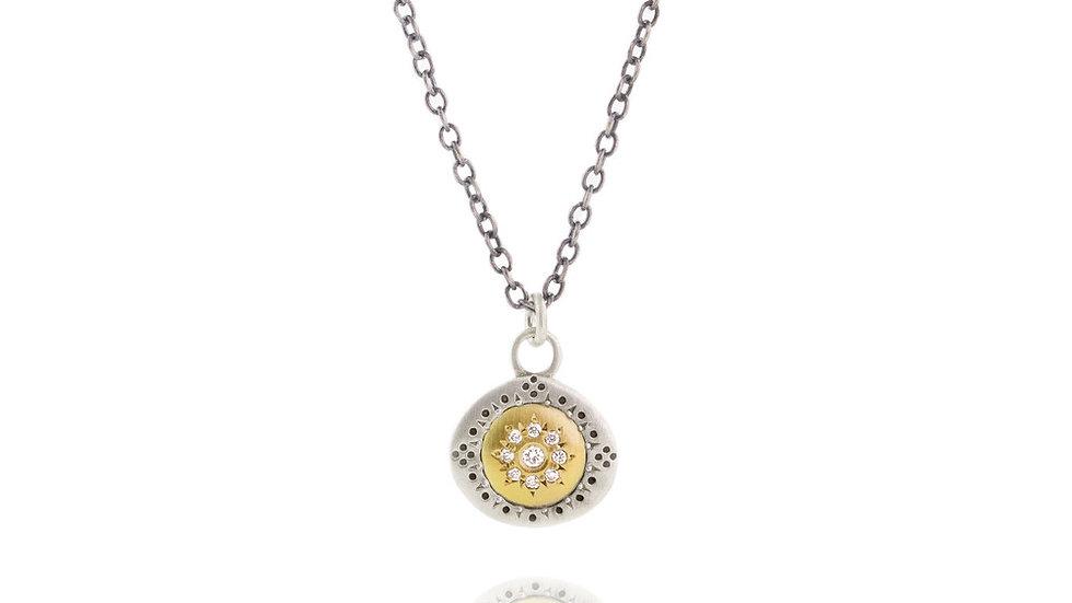 Diamond Pendant Seeds Harmony Charm