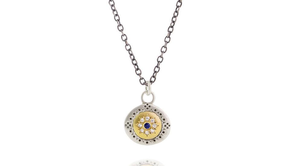 Sapphire Pendant Seeds Of Harmony