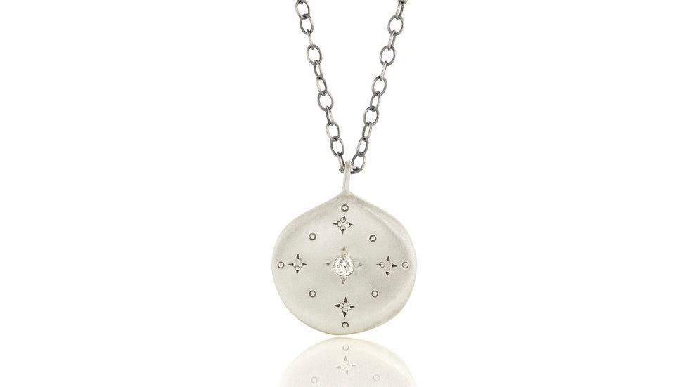 New Moon Diamond Pendant