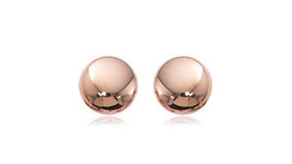 Flat Ball Earrings