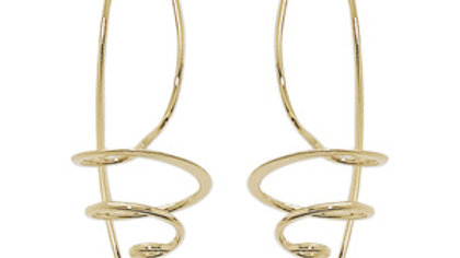 Spiral Wire Hoops